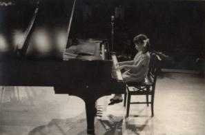 9歳。ピアノの発表会。
